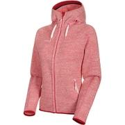 Arctic ML Hooded Jacket Women 1014-15703 3554blush-dragon fruit melange XLサイズ [アウトドア ジャケット レディース]
