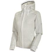 Arctic ML Hooded Jacket Women 1014-15703 bright white-highway melange Sサイズ [アウトドア ジャケット レディース]