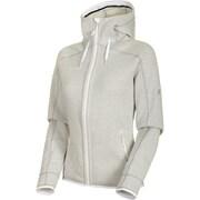 Arctic ML Hooded Jacket Women 1014-15703 00334bright white-highway melange Mサイズ [アウトドア フリース レディース]