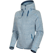 Arctic ML Hooded Jacket Women 1014-15703 bright white-highway melange Mサイズ [アウトドア ジャケット レディース]