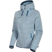 Arctic ML Hooded Jacket Women 1014-15703 00367bright white-sapphire melange XLサイズ [アウトドア ジャケット レディース]