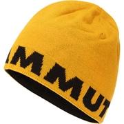 Mammut Logo Beanie 1191-04891 golden-black [スポーツウェアアクセサリ ビーニー]
