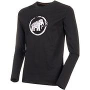 Mammut Logo Longsleeve Men 1016-00530 black Sサイズ [アウトドア カットソー メンズ]