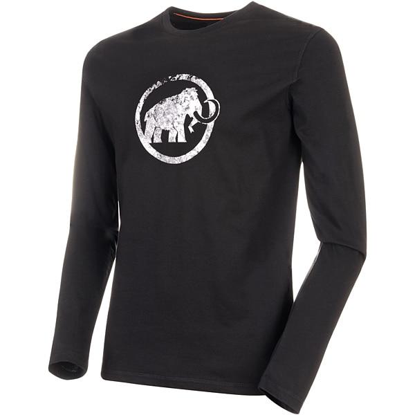 Mammut Logo Longsleeve Men 1016-00530 black Mサイズ [アウトドア カットソー メンズ]
