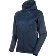 Avers ML Hooded Jacket AF Women 1014-01650 50125peacoat XXLサイズ [アウトドア ジャケット レディース]
