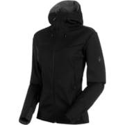 Ultimate V SO Hooded Jacket AF Women 1011-00341 0052black-black XXLサイズ [アウトドア ジャケット レディース]