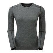 F プリミノ140 L/S Tシャツ GFP1LSL 10 ブラック Sサイズ [アウトドア アンダーウェア]