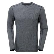 プリミノ140 L/S Tシャツ GMP1LSL 10 ブラック Sサイズ [アウトドア アンダーウェア]