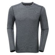 プリミノ140 L/S Tシャツ GMP1LSL 10 ブラック Lサイズ [アウトドア アンダーウェア]