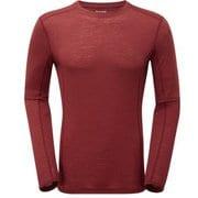 プリミノ140 L/S Tシャツ GMP1LSL 152レッドウッド Lサイズ [アウトドア アンダーウェア メンズ]