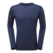 プリミノ140 L/S Tシャツ GMP1LSL 736 ATCブルー Mサイズ [アウトドア アンダーウェア]