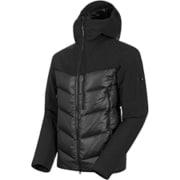 Rime Pro IN Hybrid Hooded Jacket AF Men 1013-01320 black XLサイズ [アウトドア ダウンウェア メンズ]