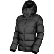 Meron IN Hooded Jacket Women 1013-01200 black Mサイズ [アウトドア ダウンウェア レディース]