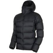 Meron IN Hooded Jacket AF Men 1013-00740 black-black Sサイズ [アウトドア ダウンウェア メンズ]