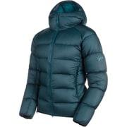 Meron IN Hooded Jacket AF Men 1013-00740 wing teal-sapphire Sサイズ [アウトドア ダウンウェア メンズ]