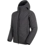 Whitehorn Pro IN Hooded Jacket AF Men 1013-01330 black melange Lサイズ [アウトドア ダウンウェア メンズ]
