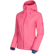 Casanna HS Thermo Hooded Jacket Women 1010-27500 3628_light dragon fruit Mサイズ [アウトドア ジャケット レディース]