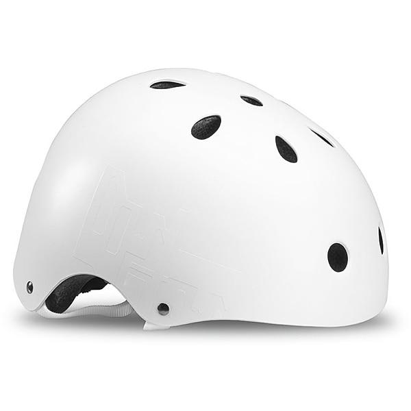 DOWNTOWN HELMET (CE) 067H0300 WHITE/BLACK Mサイズ [ヘルメット]