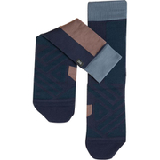 High sock 322.00074 W Navy | Grape XSサイズ [ランニング小物]