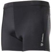アドバンスショートタイツ Advance Short Tights GC09358 (BK)ブラック Lサイズ [コンディショニングウェア ショートタイツ メンズ]