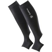 コンフォートカーフスリーブ Comfort Calf Sleeves GCW09381 (BK)ブラック Lサイズ [コンディショニングウェア]
