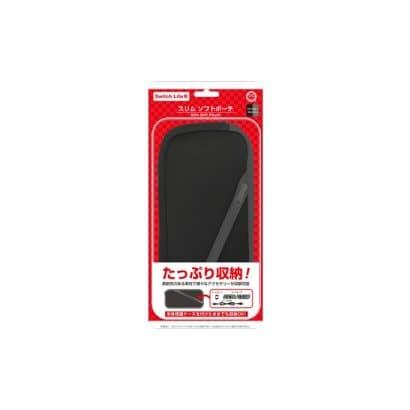 CC-SLSSP-BG [Switch Lite用 スリムソフトポーチ ブラックグレー]