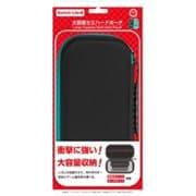 CC-SLDHP-BT [Switch Lite用 大容量セミハードポーチ ブラックターコイズ]