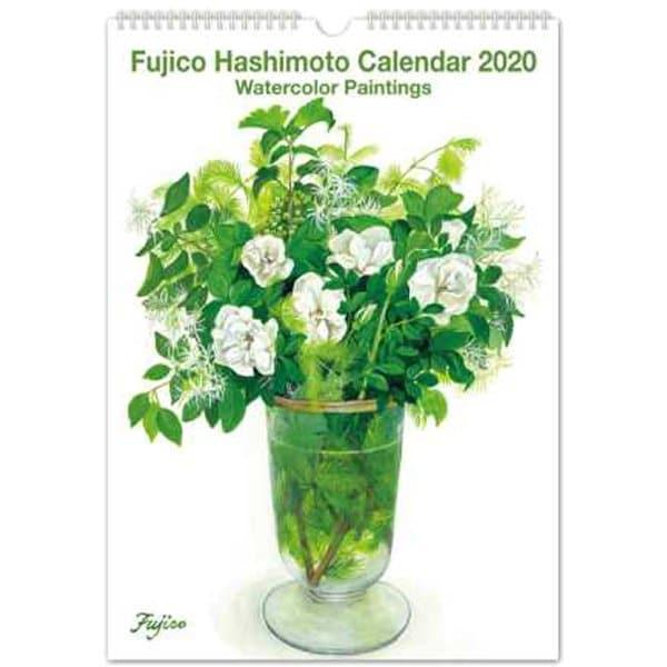 CAL-02 [【限定】2020 カレンダー 橋本不二子 インテリア L]