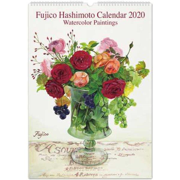 CAL-09 [【限定】2020 カレンダー 橋本不二子 Roses LL]