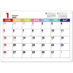 CAL-39 [【限定】2020 カレンダー ジャバラカレンダータテ伸び A5]