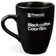 Polaroid メッセージマグ ブラック
