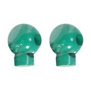 丸型コードストッパー(2ヶ入リ) RMK-1 グリーン [コードロック]