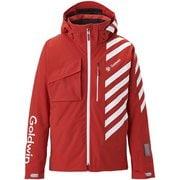Baro Jacket G11924P FR_ファイヤーレッド XLサイズ [スキーウェア ジャケット メンズ]