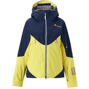 Iris Multi-color Jacket GL11965BP (NY)ネイビー×ライトニングイエロ XLサイズ [スキーウェア ジャケット レディース]