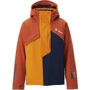 Stream Jacket G11926P (BR)バーントオレンジ×オレンジ XLサイズ [スキーウェア ジャケット メンズ]