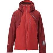 Tellus Jacket G11922P FR_ファイヤーレッド XLサイズ [スキーウェア ジャケット メンズ]