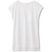 ハイブリットヴェントフレンチ HYBRID VENT FRENCH DC59304 ホワイト(W) Lサイズ [レディース フィットネス・シャツ]