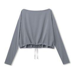 YOGI CLOTH CROP TO DS39325 DL [レディース フィットネス・シャツ]
