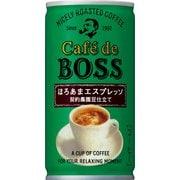 カフェ・ド・ボス ほろあまエスプレッソ 缶 185g×30本