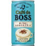 カフェ・ド・ボス ふんわりカプチーノ 缶 180g×30本