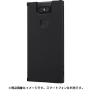 IS-RAZ6TK1/B [Zenfone6 耐衝撃ソフトケースKAKU/ブラック]
