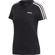 FRU57 DP2362 [W 半袖 3スト Tシャツ BLK/WHT J/L]