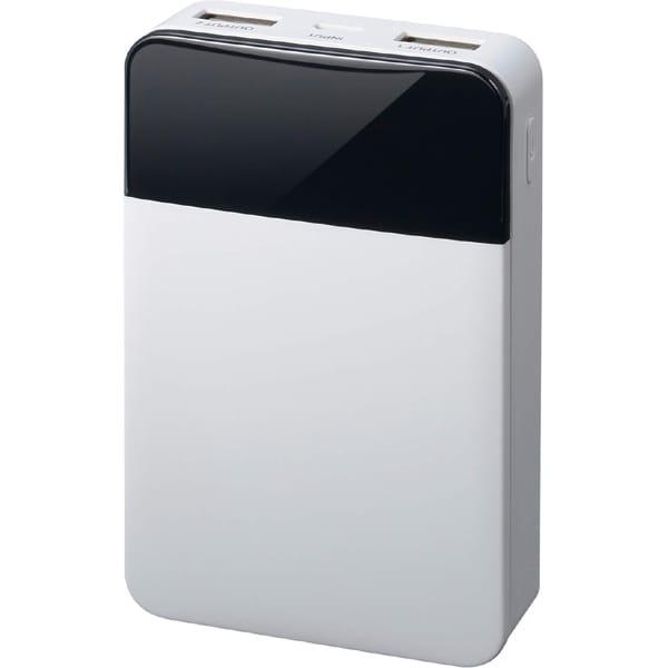 GH-BTF100-WH [モバイル充電器 10000mAh ホワイト]