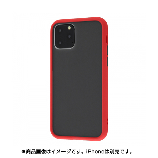 RT-P23BS1/R [iPhone 11 Pro 耐衝撃マットハイブリッドケース BABYSKIN/レッド]