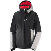 STORMSEASON JKT W L40386000 Black/Vapor XSサイズ [スキーウェア ジャケット レディース]