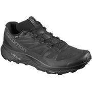SENSE RIDE GTX INVISIBLE FIT W L40771900 Black/Black/Magnet 23cm [トレイルランニングシューズ レディース]