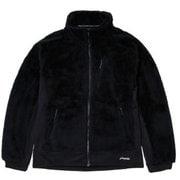 シャギー ボア フリース ジャケット PH952KT13 (OB)オフブラック XLサイズ [アウトドア フリース メンズ]