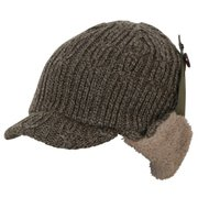 Knit Flight Cap PH958HW20 KA_カーキ [アウトドア帽子]