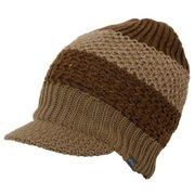 Alternate Knit Brim Cap PH958HW21 BR_ブラウン [アウトドア帽子]