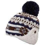 Native Earflap Beanie PH968HW73 BL_ブルー [アウトドア帽子 レディース]